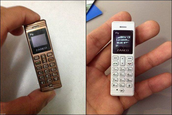 The Zanco Fly Is One Of The World's Smallest Mobile Phones (4 pics)