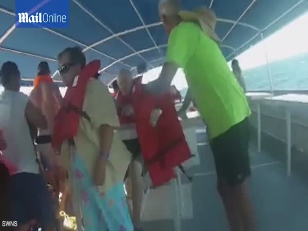 Terrifying Moment Costa Rica Tour Cruise Catamaran Capsized