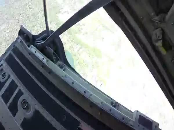 Navy SEALS Insane Parachute Jump Into Football Stadium