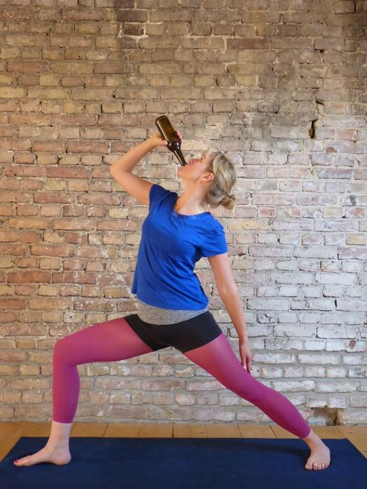 A Yoga Studio In Berlin Is Allowing Students To Bring Beer To Class (13 pics)