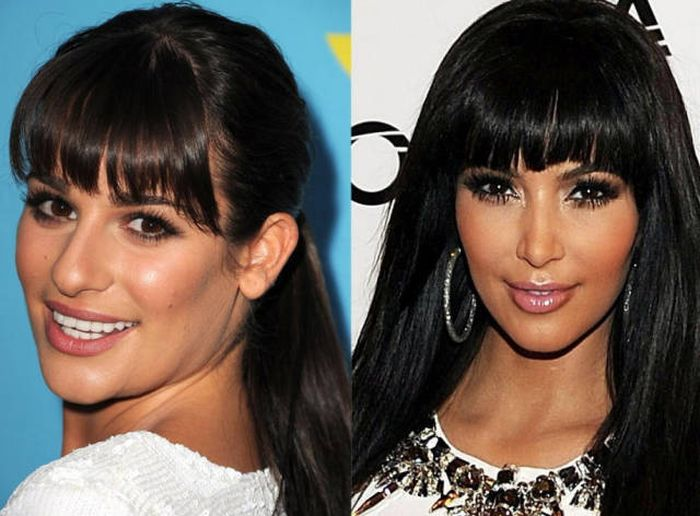 Side By Side Comparisons Of Celebrities And Their Lookalikes (42 pics)