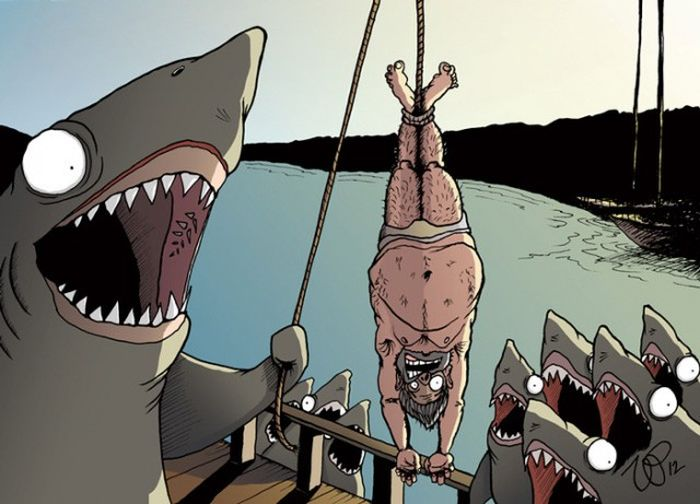 Animals Rule The World In These Cynical Illustrations (23 pics)