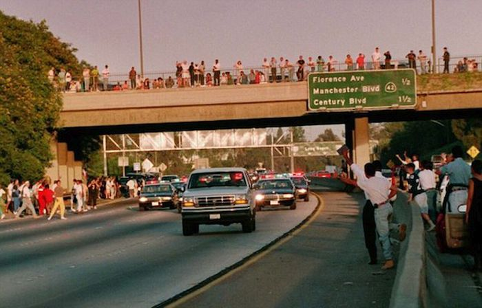 The Craziest Car Chases In The History Of Los Angeles (10 pics)