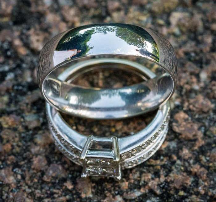 Self-Taught Photographer Uses Wedding Rings To Take Unique Photos (12 pics)
