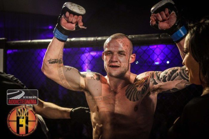 Former Harry Potter Star Joshua Herdman Is Now An MMA Fighter (4 pics)