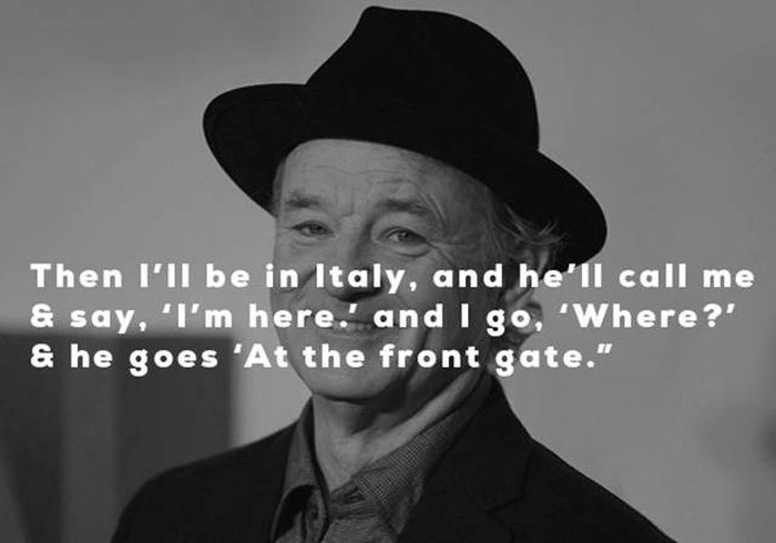 George Clooney Explains His Process For Inviting Bill Murray To Italy (5 pics)