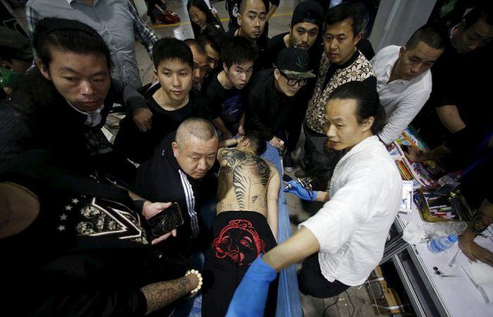 All The Best Tattoos From Shanghai International Art Festival Of Tattoos (23 pics)