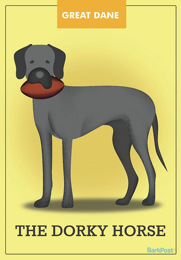 Honest Slogans That Break Down Different Dog Breed Stereotypes (12 pics)