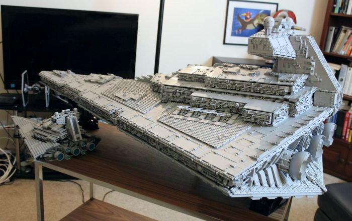This Massive Imperial Star Destroyer Tyrant Is Sure To Impress Any Star Wars Fan (30 pics)