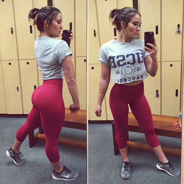 Gorgeous Girls In Yoga Pants That Will Keep You Busy For A
