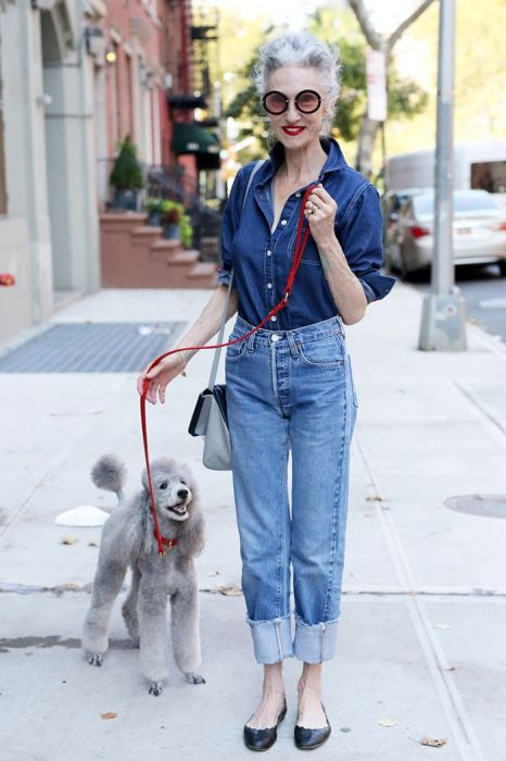 Seniors Who Aren't Afraid To Dress Up And Look Hip (25 pics)