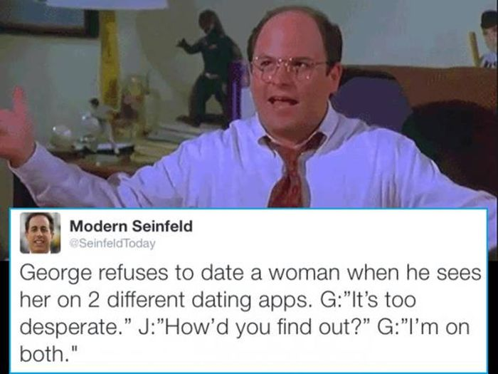 Twitter Account Modern Seinfeld Totally Nails What The Show Would Be Like Today (17 pics)