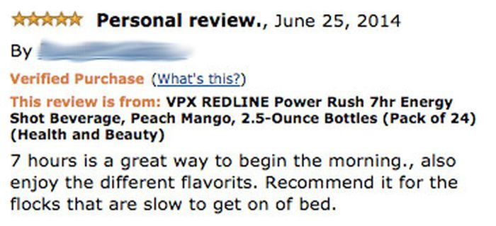 Hilarious Energy Drink Reviews From Amazon That Point Out The Awful Side Effects (12 pics)