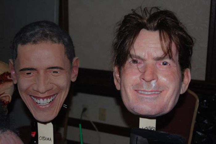 These Realistic Celebrity Masks Are Both Creepy And Cool (18 pics)