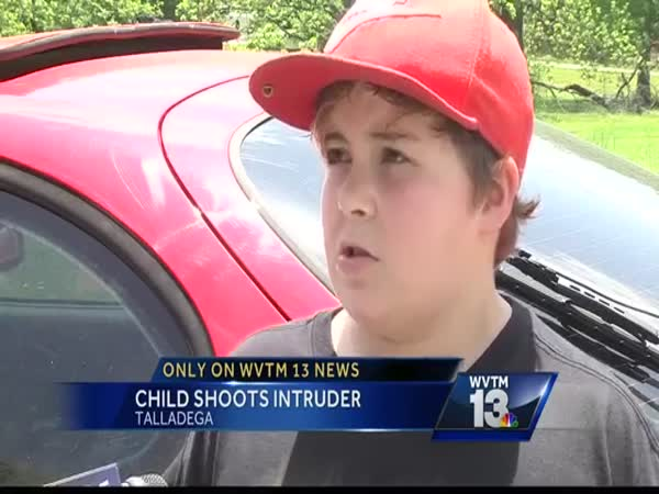 11 Year Old Protects Talladega Home Against Intruder
