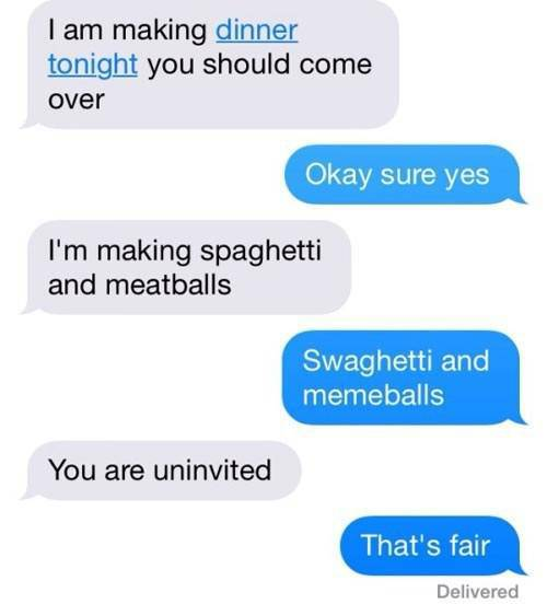 Hilarious Texts That Will Keep You Laughing All Day Long (33 pics)