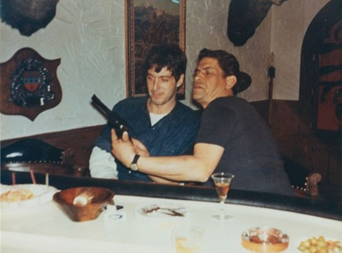 Al Pacino Actually Hung Out With The Mafia While Doing Research For The Godfather (2 pics)