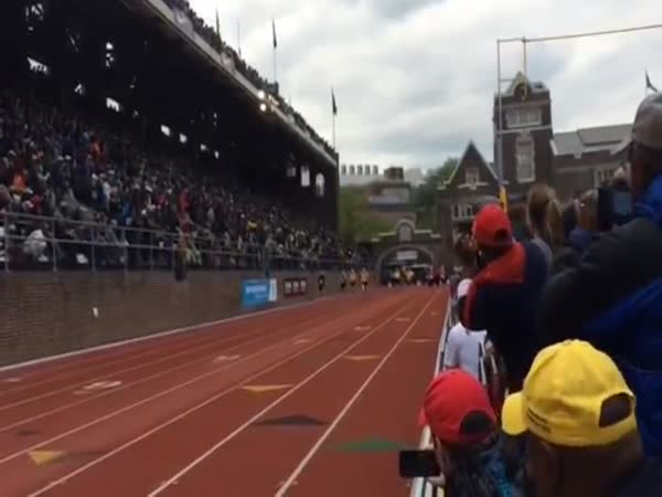 Masters 100 Yard Dash At Penn Relays