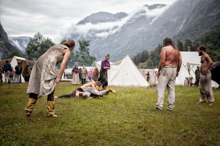 The Gudvangen Viking Market Is A Place Lost In Time (28 pics)