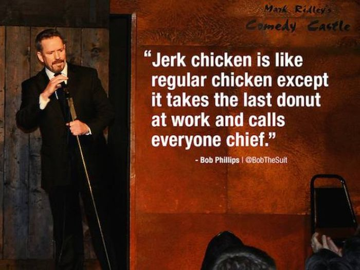 Your Funny Bone Is About Be Tickled By These Witty Stand Up Comedy Jokes (23 pics)