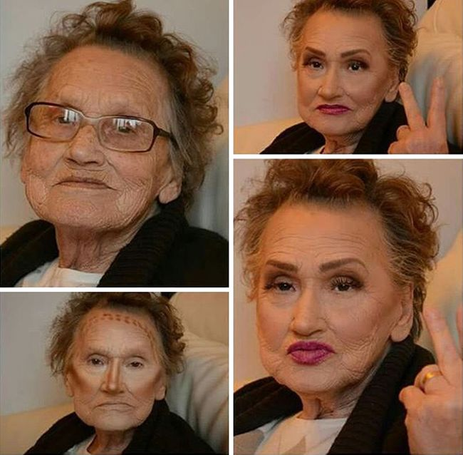 80 Year Old Grandma Becomes An Internet Sensation With Help From Her Granddaughter (5 pics)