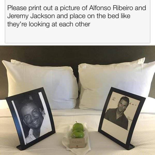 Hotels Around The World Actually Honor This Businessman's Ridiculous Requests (5 pics)