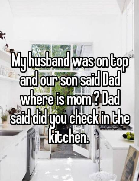 Bizarre Excuses Parents Made Up When Their Kids Caught Them Having Sex (15 pics)