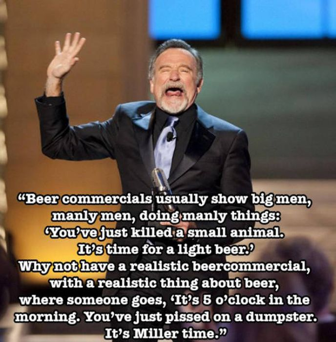 Hilarious Stand Up Comedy Jokes From The Mind Of Robin Williams (13 pics)