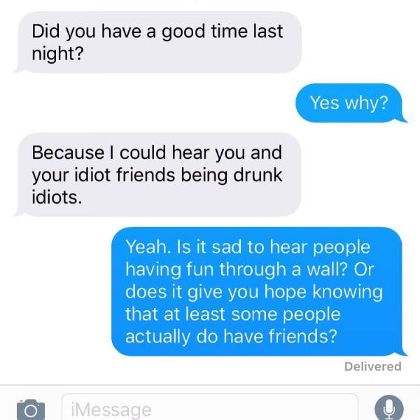 Crazy Neighbors Always Send The Most Terrible Texts (38 pics)