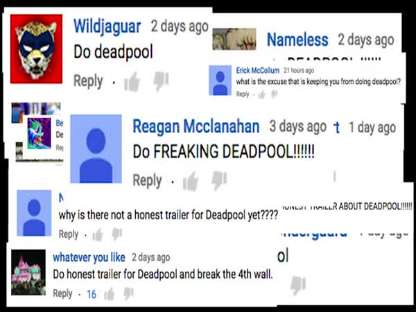 Honest Trailers Deadpool