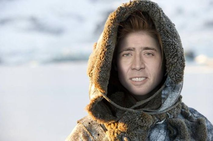 What Game Of Thrones Would Look Like If Nicolas Cage Played Every Character (26 pics)