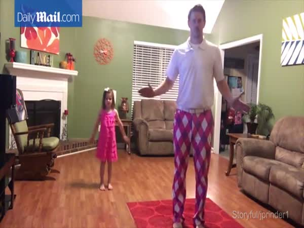 Daddy And Daughter Duo Bust Some Serious Moves To Justin Timberlake
