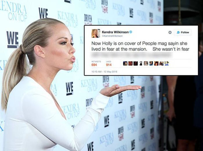 Kendra Wilkinson Exposed Holly Madison With A Savage Burn On Twitter (14 pics)