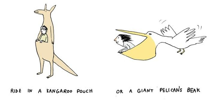 Artist Asks Strange Would You Rather Questions Using Unique Illustrations (10 pics)