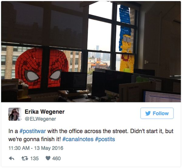A Post It Note War Has Taken Over New York City (9 pics)