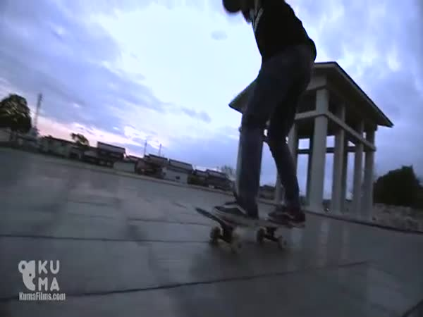 The Most Amazing 12 Year Old Freestyle Skateboarder
