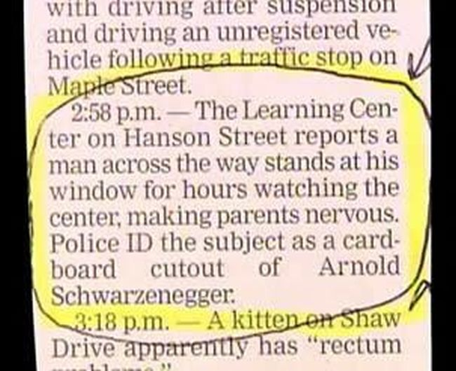 Hilarious Hidden Gems That Were Found In Bizarre Police Reports (20 pics)