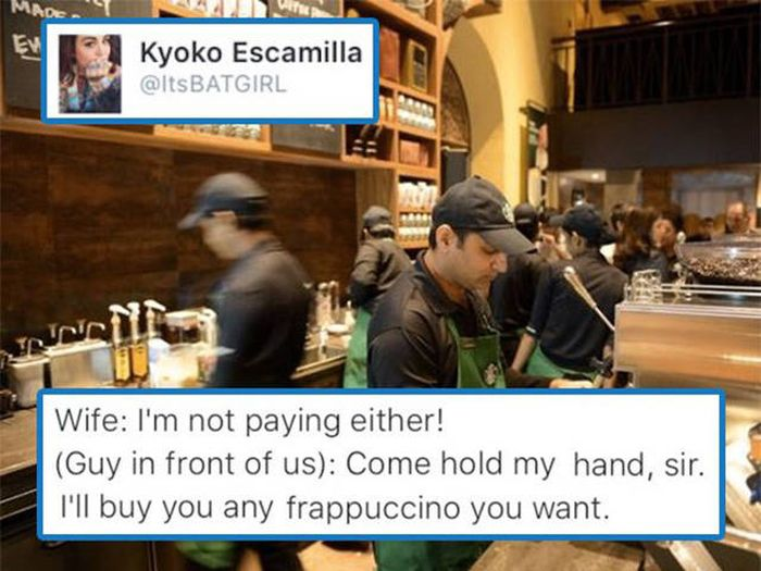 The Strangest Things Can Happen When You Visit Starbucks The Middle Of The Night (6 pics)
