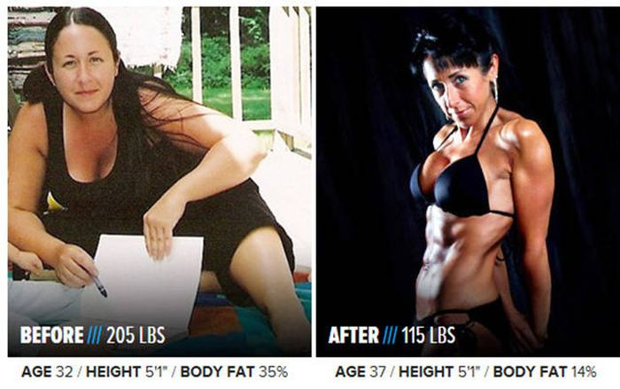 Prepare To Have Your Mind Blown By These Insane Body Transformations (40 pics)