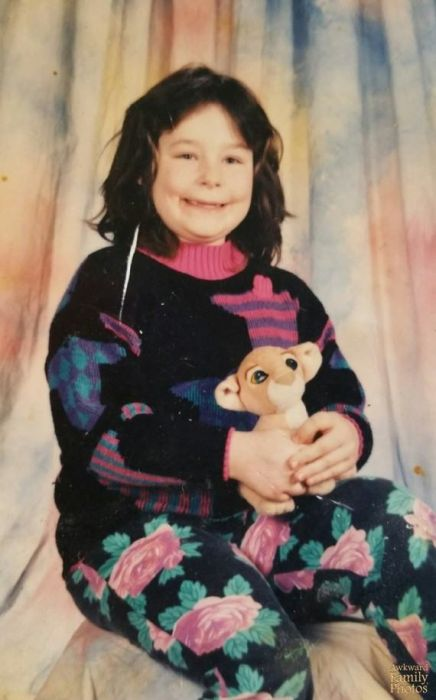 Awesome School Photos That Were Taken During People's Awkward Years (22 pics)