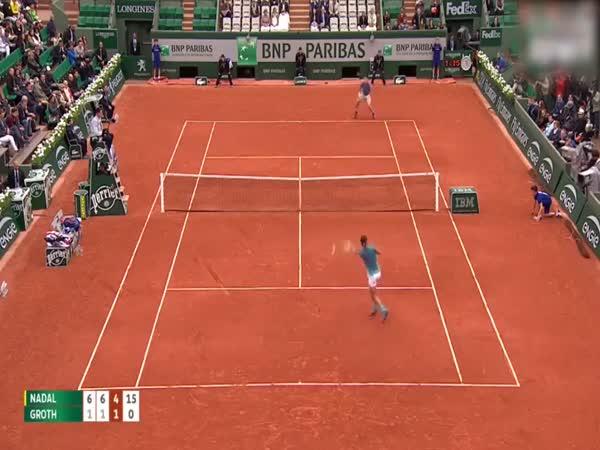 Rafael Nadal Incredible Blow