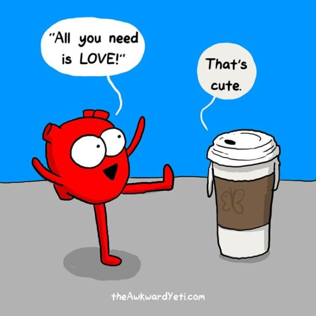 Funny Comics That Show The Biggest Differences Between The Heart And The Mind (14 pics)