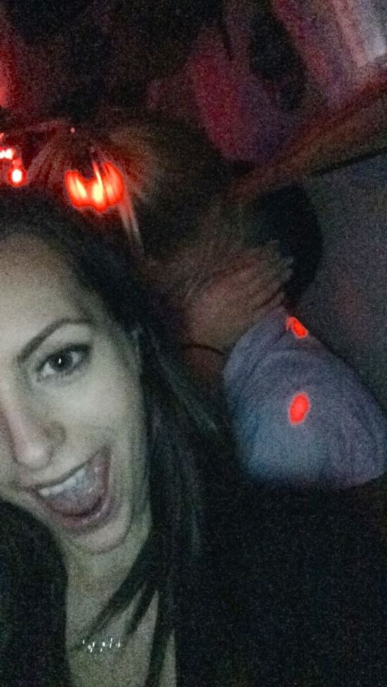 Girl Takes Selfies With Random Couples While They're Making Out (18 pics)