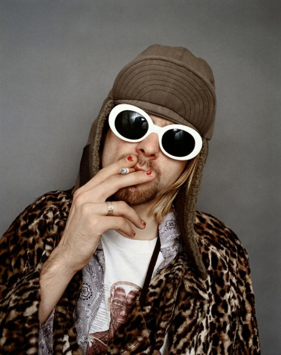 Pictures From Nirvana's Last Photoshoot With Kurt Cobain (14 pics)