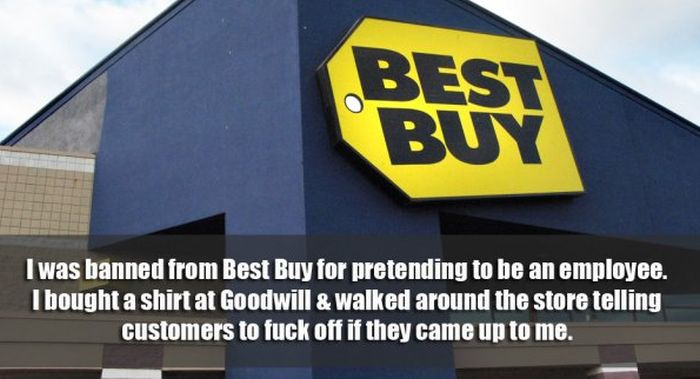 People Confess The Bad Things They Did To Get Banned From Places (16 pics)
