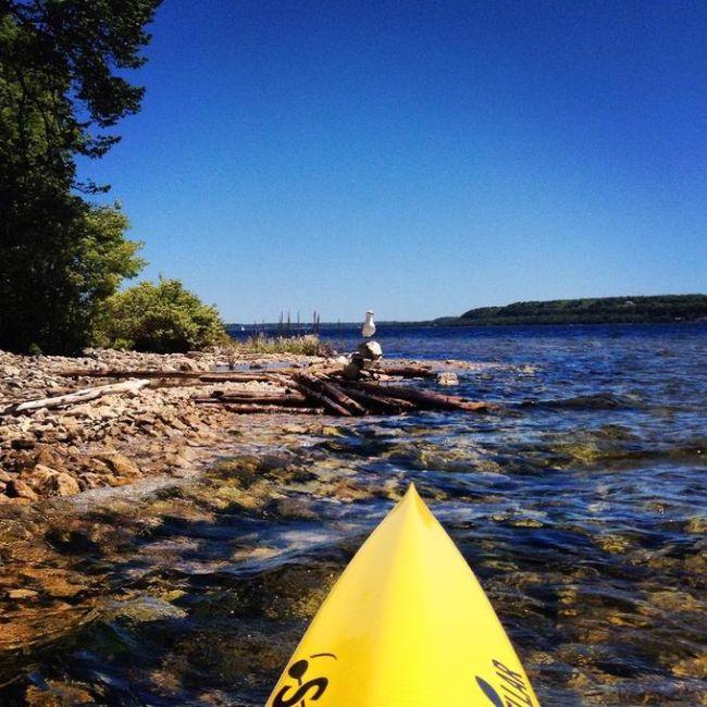 Increibles fotos desde un Kayak