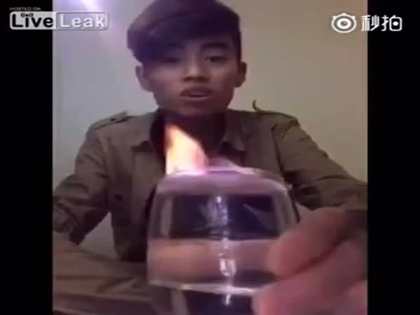 Fire Trick Fail