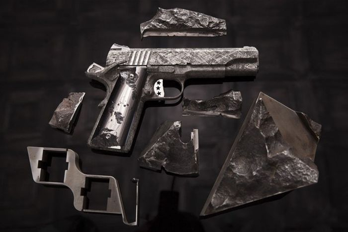 An American Company Is Selling Guns That Were Made From A Meteorite  (17 pics)
