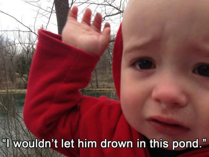 Sometimes Kids Cry For The Most Ridiculous Reasons (34 pics)