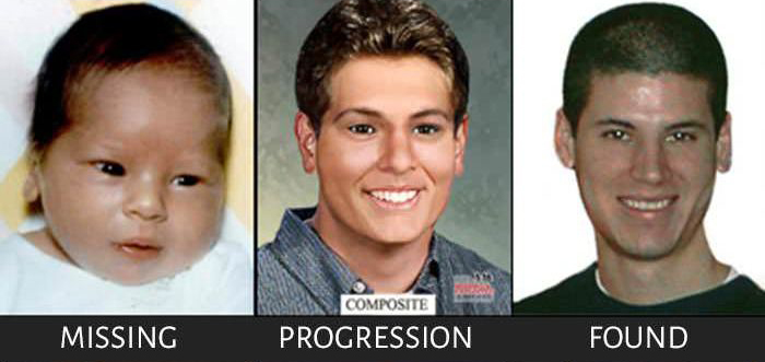 Reliable Age Progression Pictures From Missing Persons Reports (4 pics)